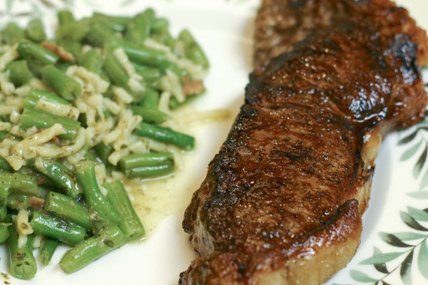 Pan Seared Steaks