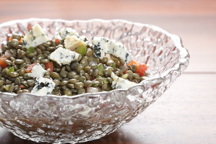 Spanish Lentil Salad with Vadeon Cheese